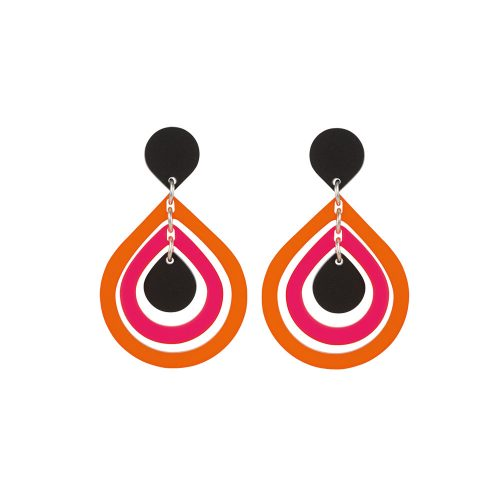 Toolally_Pear_Drops_Tropical_Orange_Earrings_Product