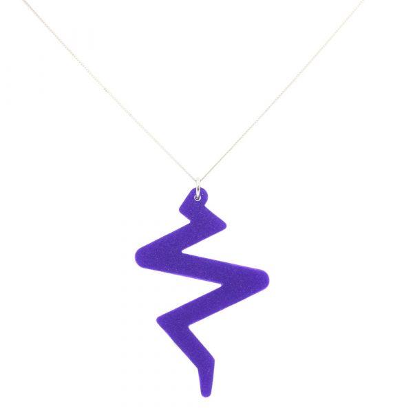 Beats Necklace - Royal Purple