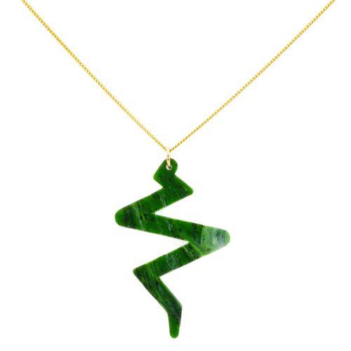 Beats Necklace - Jade
