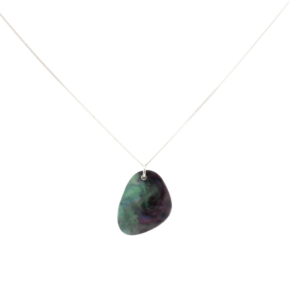 Pebbles Necklace - Abalone