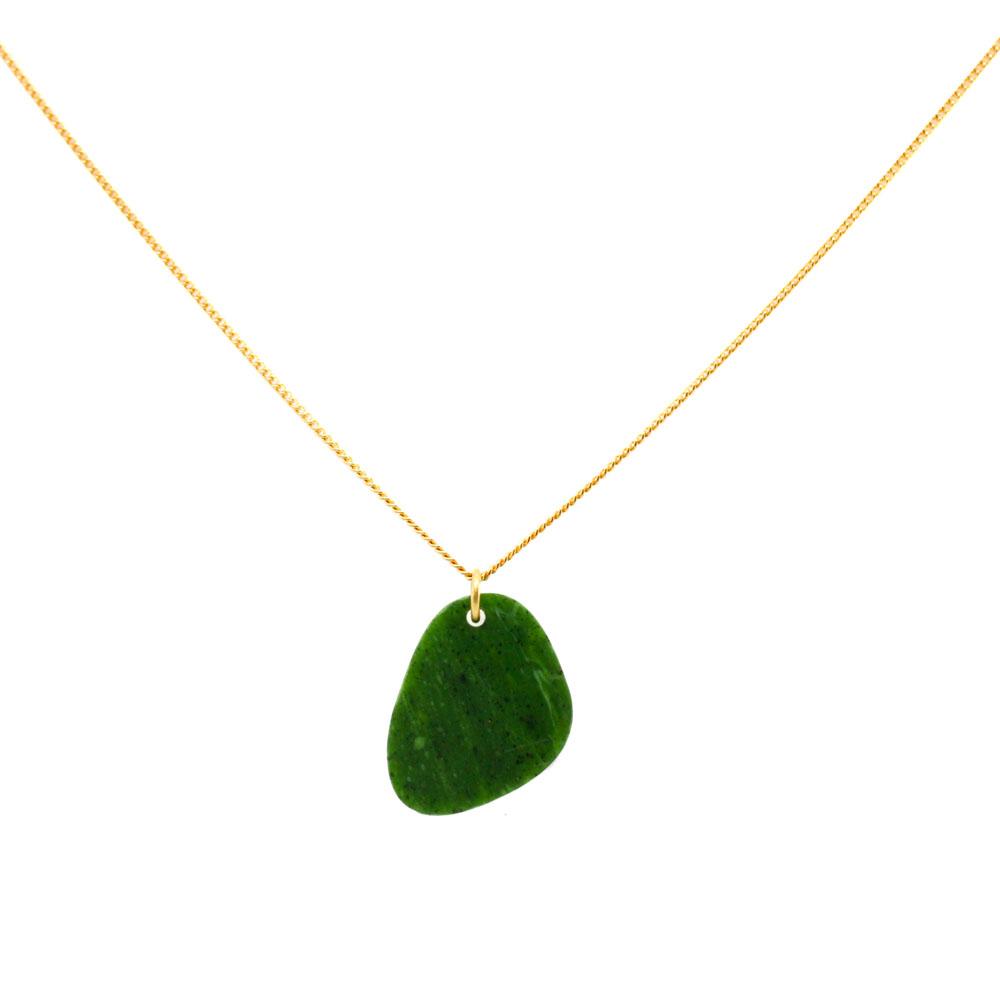 Pebbles Necklace - Jade