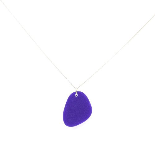 Pebbles Necklace - Royal Purple