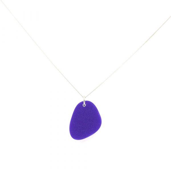 Pebbles Necklace - Royal Purple