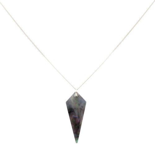 Shards Necklace - Abalone