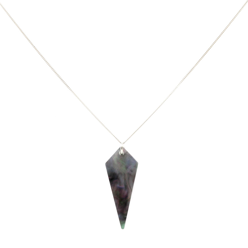 Shards Necklace - Abalone