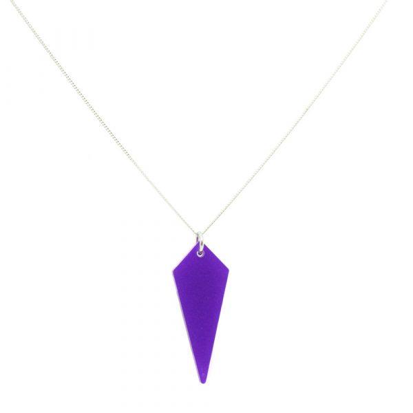Shards Necklace - Royal Purple