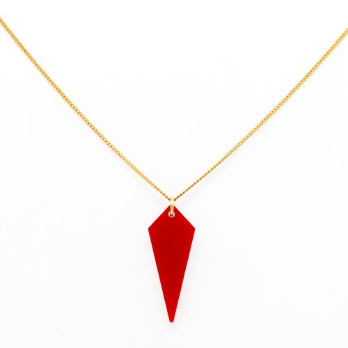 Shards - Necklace - Royal Red