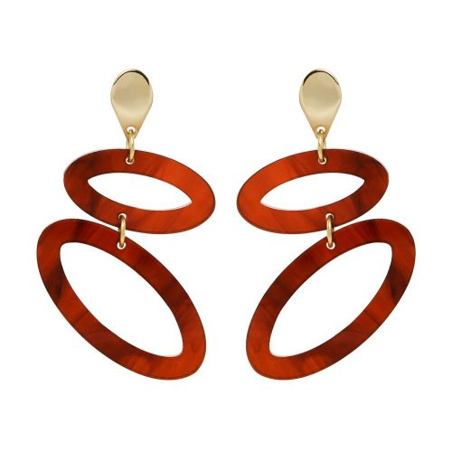 Toolally Ellipses - Tortoiseshell & Gold
