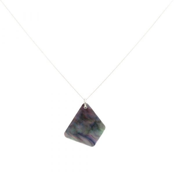 Trapeziums Necklace - Abalone
