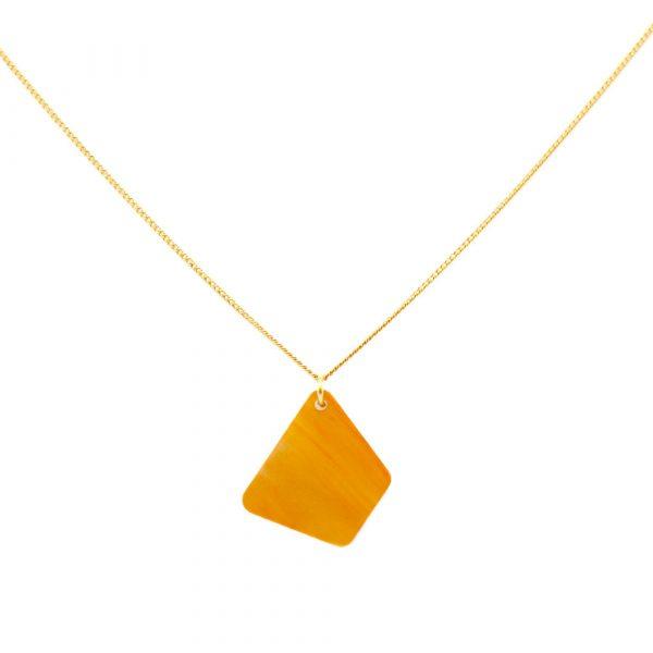 Trapizium Necklace - Mica