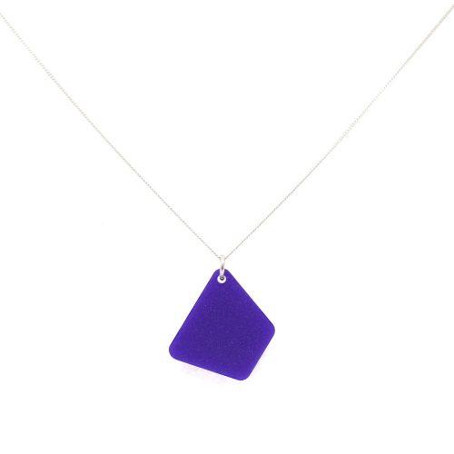 Trapizium Necklaces - Royal Purple