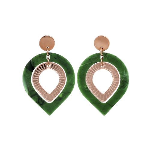 Toolally Garbos - Jade & Rose Gold