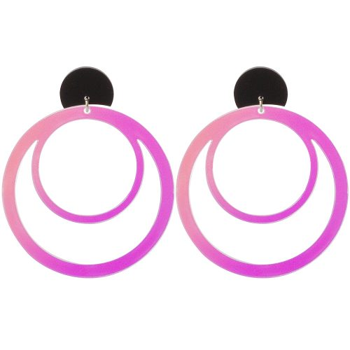 Toolally LBD Hoops Iridescent