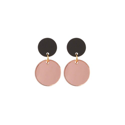 Toolally Dotty Dots Rose Gold Mirror