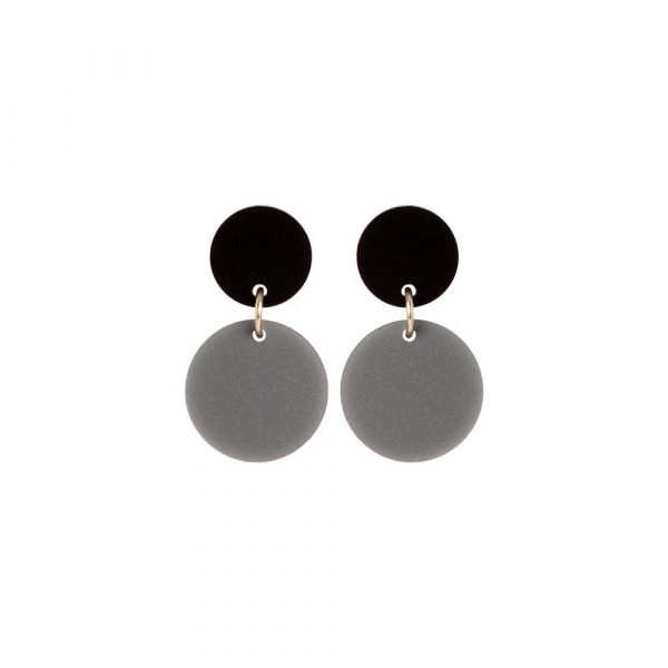 Toolally Dotty Dots Royal Silver & Black