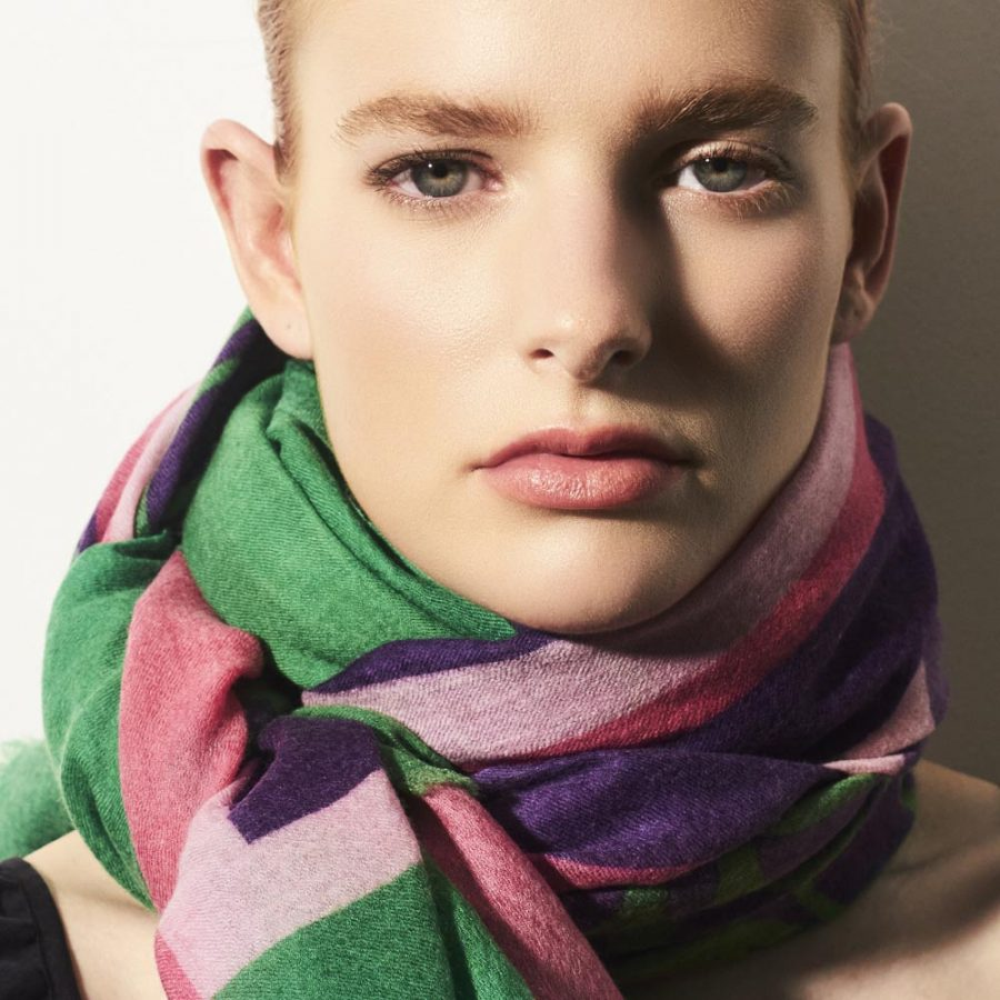Toolally_Beats_Scarf_Green_Pink_Purple_Lifestyle_2