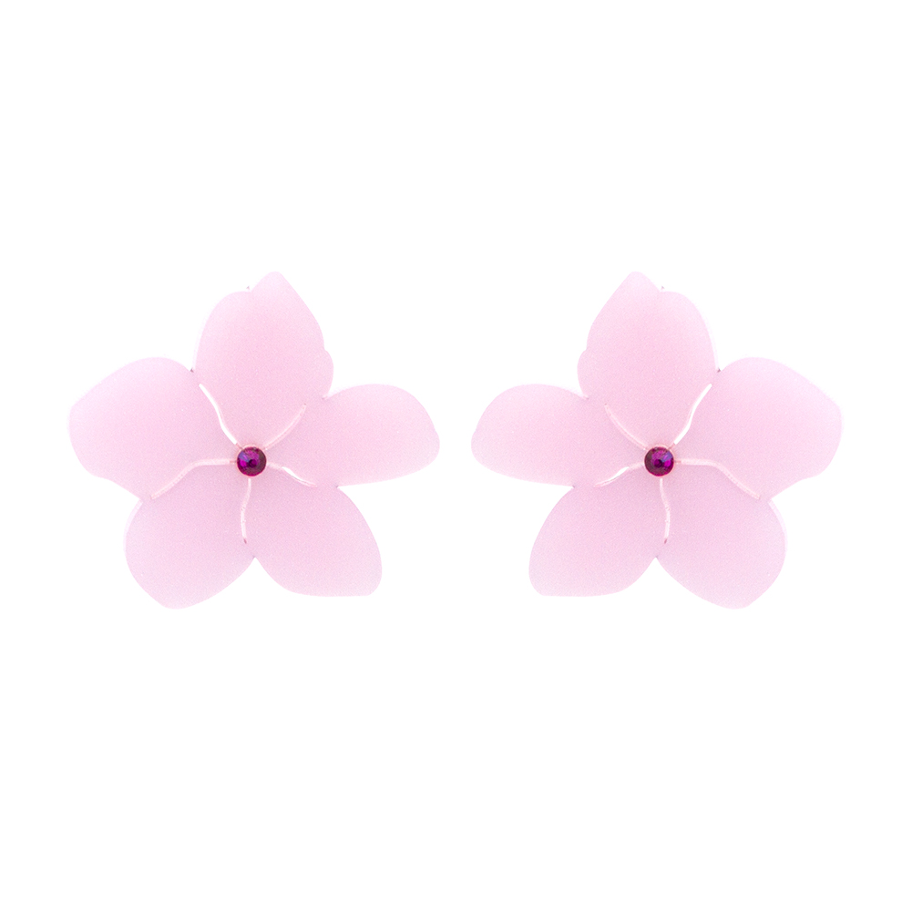 Toolally_Blossoms_Stud_Pink