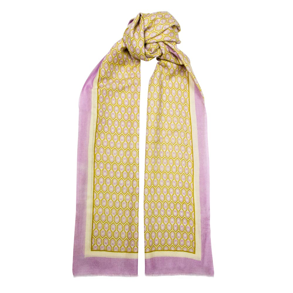 Toolally_Houndstooth_Scarf_Lilac