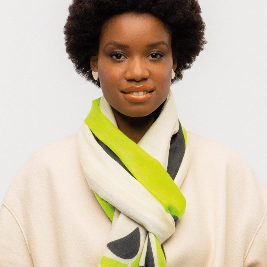Tulip Scarf_Lime Geen_127296