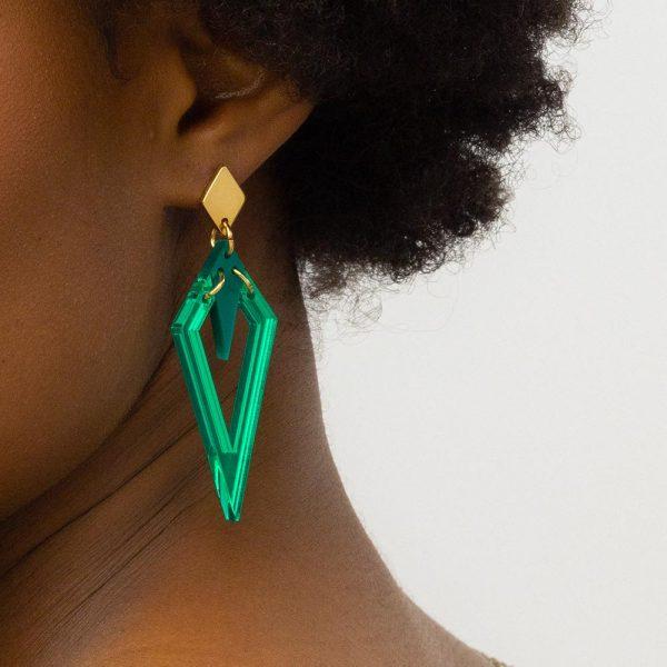 Toolally arrowheads emerald green mirror lifestyle