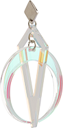 Toolally Crescent Hoops Iridescent App Image