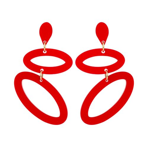 Toolally Ellipses Royal Red