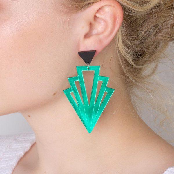Toolally Gatsbys Green Mirror Lifestyle