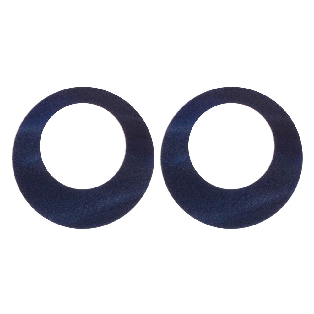 Toolally Hoops Navy Pearl