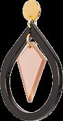 Toolally Pear and Diamond Black & Nude App Image