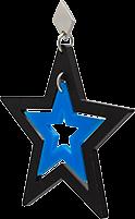 Toolally Stars Black & Bluebird Blue App Image