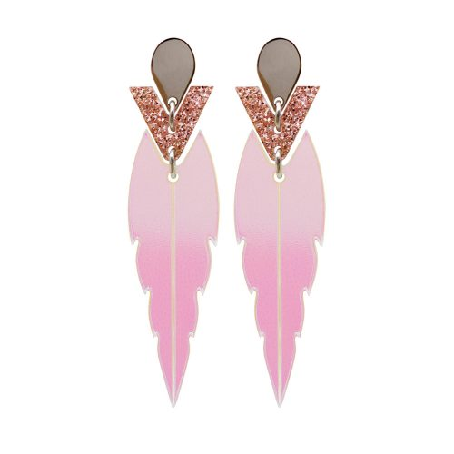 Toolally mini kingfishers iridescent pink glitter