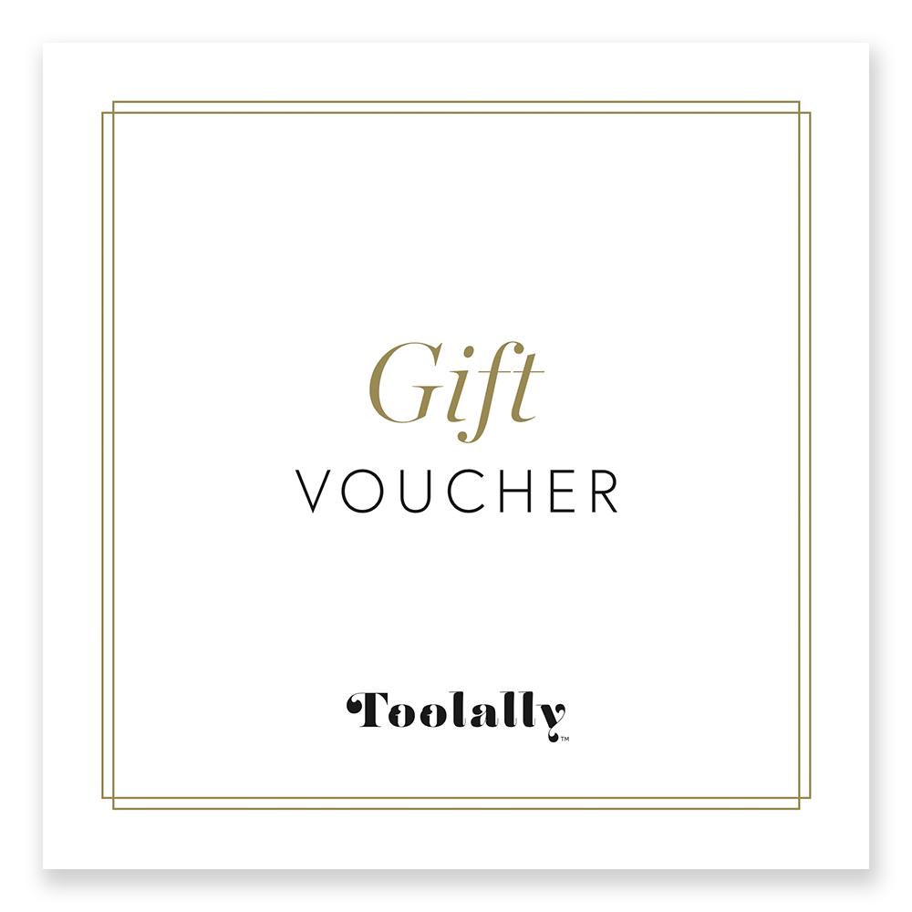 toolally gift voucher card