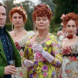 Lady Featherington in Netflix series Bridgerton