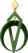 Toolally Classic Crescent Hoops Jade App Image