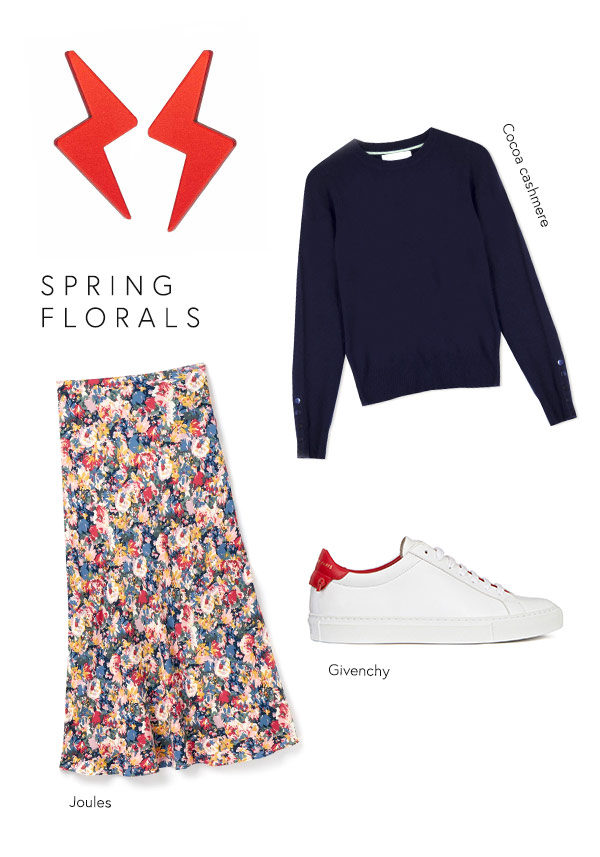 toolally bolts spring florals