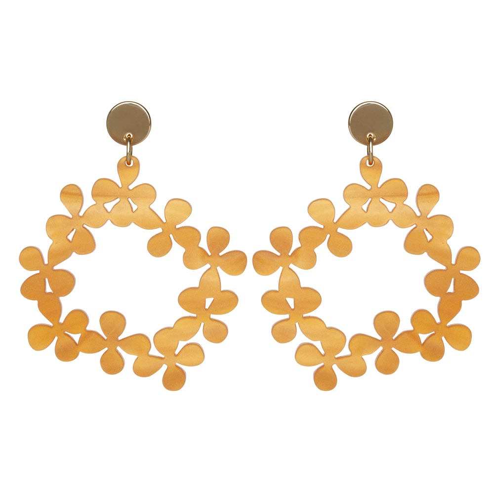 Toolally Daisy Chains in Orange Marble