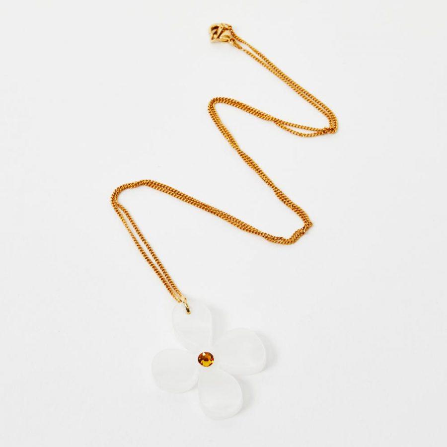 Toolally Daist Pendant - White Pearl