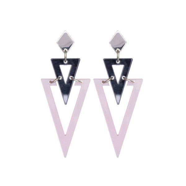 Toolally Arrows Grey Mirror Pink