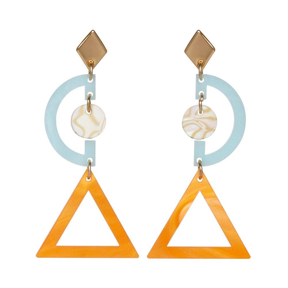 Toolally Grafics Powder Blue Orange Pearl