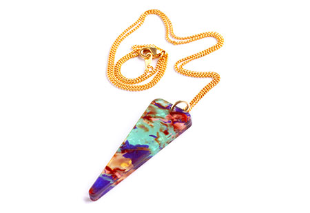 Toolally Icicle Pendant Necklace