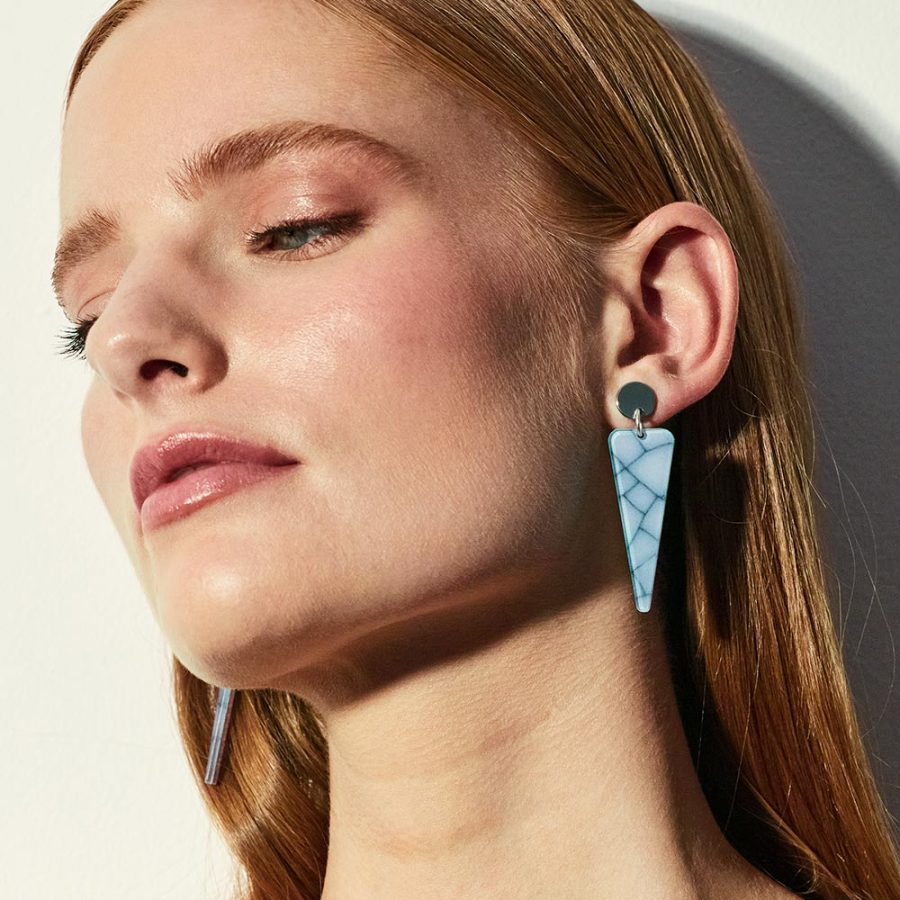 Toolally - Icicles Earrings - Porcelain