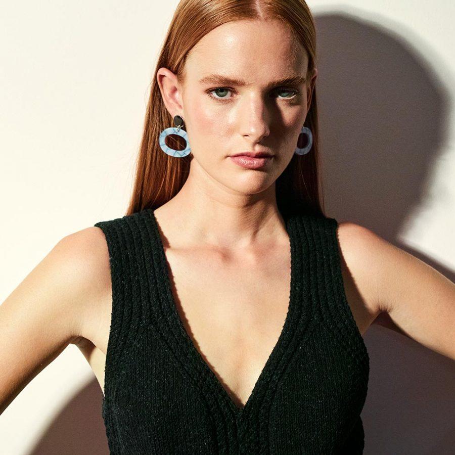 Toolally - Ohs Earrings - Porcelain - Lifestyle