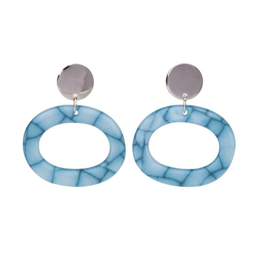Toolally Ohs Earrings in Porcelain