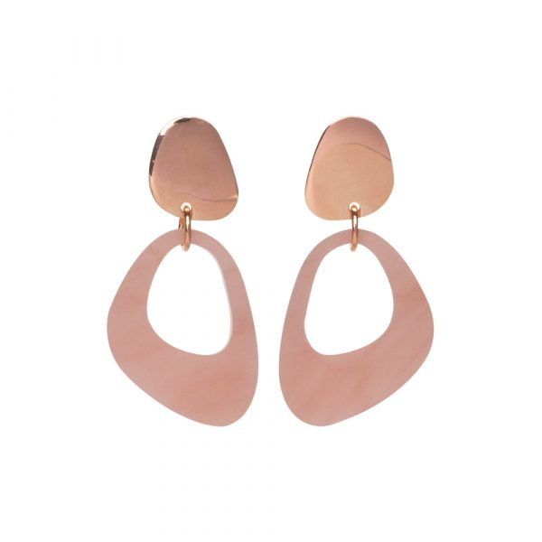 Toolally Pebble Drops in Antique Rose