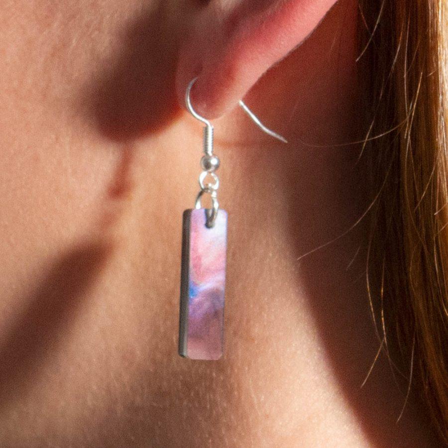 Toolally Earrings - Cutting Room 33 - Abalone