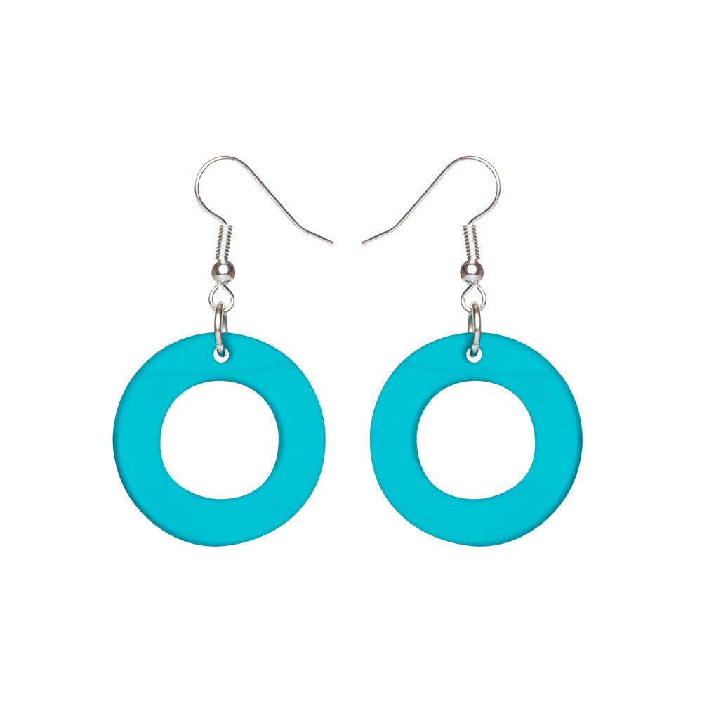 Toolally Earrings - Cutting Room 34 - Azure