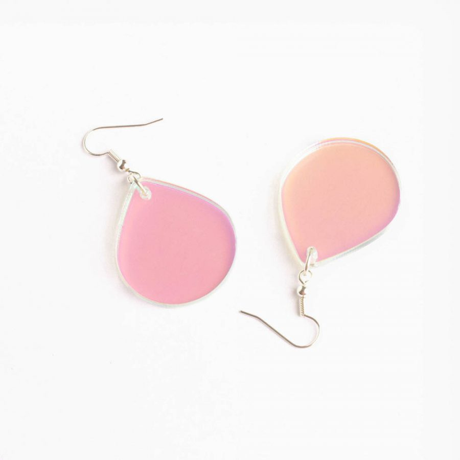 Toolally Earrings - Cutting Room 21 - Iridescent